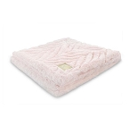 Mini Pocket Posh, Cozy Blanket for boy or Girl, Toddler, Infant, or Newborn, Pink