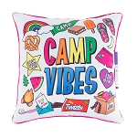 CAMP VIBES AUTOGRAPH PILLOW
