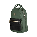 ELESAC 16 inch Puffer Backpack (Khaki/Black)
