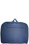 Quilted Garment Bag (Navy)