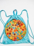 Jersey Cookie Drawstring Sling Camp Bag