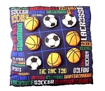 Tic Tac Toe Pillow Sports Graffiti Autograph Pillow