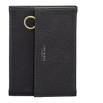 TED BAKER BLACK NOTEBOOK WITH PENCIL CASE