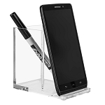 Lucite Pen/Phone Holder