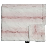 Ombre Blush Minky Blanket INCLUDES EMBROIDERY
