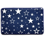 Denim Star Floor Mat