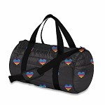 Multi HEART Puffer DUFFEL Bag