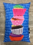 Friends Cupcake Autograph Pillow