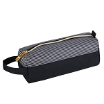 ELESAC Pencil Case (Black/Black white Stripe)