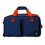 "DUANE ROLLING 21"" CARRY ON DUFFLE BAG (NAVY)"