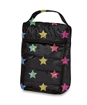Multi Glitter Star Insulated Snack Bag
