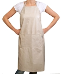 Linen Solid Adult Chef Apron