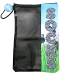 Soccer Field Zipper Sock Bag