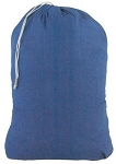 Denim Nylon Laundry Bag
