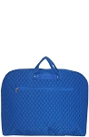 Quilted Garment Bag (Royal Blue)