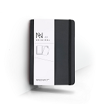 REKONECT BLACK MAGNETIC NOTEBOOK