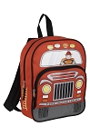 Printed Junior Vehicle Design Backpack ASSORTED DESIGNS