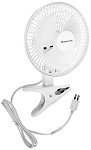 "Clip On Fan 6"" (White)"