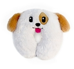 Furry Puppy Travel Neck Pillows