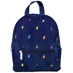 Lightning Furry Mini Backpack