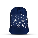Denim Star Mesh Sock Bag