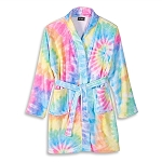 Tie Dye Delight Fuzzy Bathrobe (Kids Size 7/8)