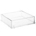 Clear Lucite Napkin Holder (Rectangle)