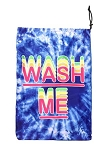 Blue Tye Dye Wash Me Mesh Laundry Bag