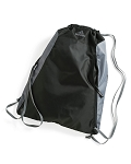 Adidas Drawstring Gym / Camp Bag (Black/Gray)