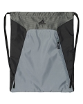 Adidas Drawstring Gym / Camp Bag (Gray/Black)