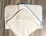 Infant hooded towel CHOOSE A COLOR
