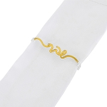 Shabbat Napkin Wraps SET OF 4