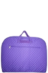 Quilted Garment Bag (Purple)