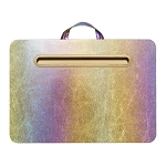 COSMIC RAINBOW LAP DESK - INCLUDES PERSONALIZATION