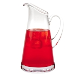 Hampton European Mouth Blown Lead Free Crystal Pitcher 54oz