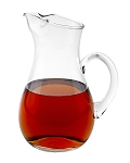 Zeus Handmade Glass Pitcher 42oz - INCLUDES ENGRAVING
