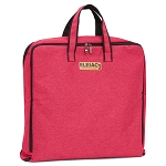 ELESAC Foldable Garment Bag,Clothing Suit Dance w/Pockets, for Business Travel (Berry Red)