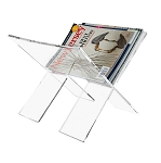 Lucite Magazine Rack (Collapsible)