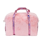 PINK FABULUXE FUR WEEKENDER  - INCLUDES EMBROIDERY