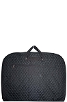 Quilted Garment Bag (Black)