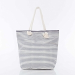 Knotted Rope Tote Camp Bag (Gray)