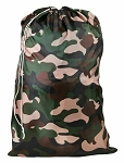 Camouflage Nylon Laundry Bag