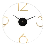 MetaLucite Clock- Numbers