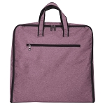 ELESAC Foldable Garment Bag,Clothing Suit Dance w/Pockets, for Business Travel (Lavender)