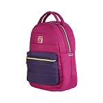 ELESAC 14 inch Puffer Backpack (Raspberry/Plum)