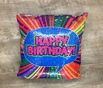 Flipping Sequin Happy Birthday Reversible Sequin Pillow