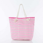 Knotted Rope Tote Camp Bag (Hot pink)
