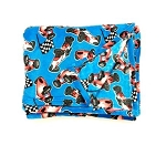 Racing Car Fuzzies Blanket