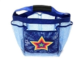 Tye Dye Blue Star Shower Caddy