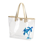 Palm Retreat Clear Tote Bag
